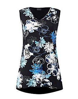 Grace floral print tunic