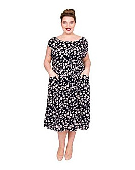 Scarlett & Jo Baby Bow Pocket Dress