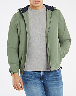 Sage Lightweight Basic Hooded Jacket