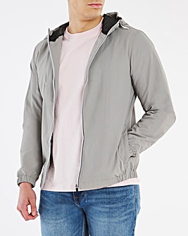 Steel Lightweight Basic Hooded Jacket