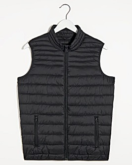 Black Lightweight Water Resistant Gilet