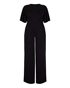 Mela London Curve Slinky V-Neck Jumpsuit