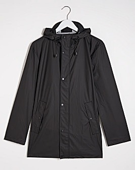 Black Lightweight Waterproof Jacket