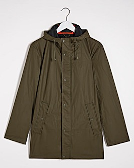 Olive Lightweight Waterproof Jacket