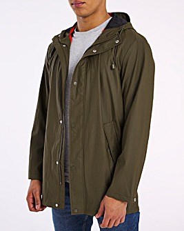 Olive Light Shower Resistant Jacket