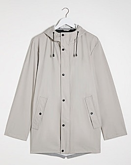 Grey Lightweight Shower Resistant Jacket