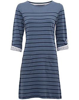 Brakeburn Jersey Stripe Dress