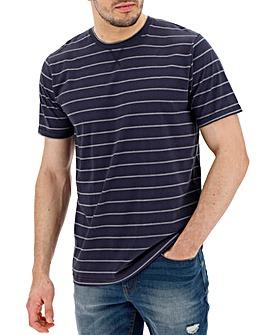 Denim/Navy Stripe T-shirt