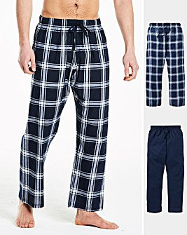Pack of 2 Woven PJ Bottoms