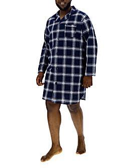 Navy Check Nightshirt