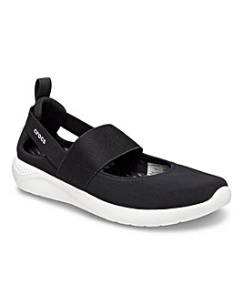 Crocs Lite Ride Elasticated Strap Slip On Leisure Shoe Standard D Fit