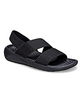 Crocs Lite Ride Stretch Sporty Sandals Standard D Fit