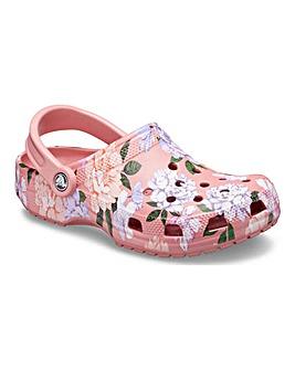 Crocs Floral Classic Clogs
