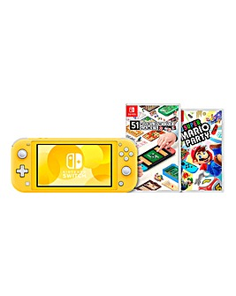 Nintendo Switch Lite Yellow Bundle