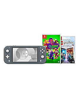 Nintendo Switch Lite Grey Bundle