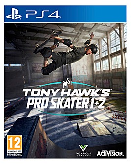 Tony Hawk Pro Skater 1+2 (PS4)