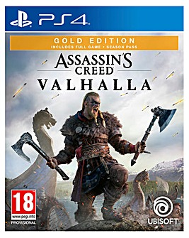 Assassins Creed Valhalla Gold Edition (PS4)