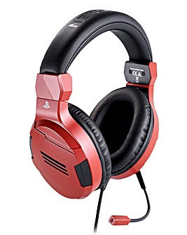 PS4 Official Stereo Gaming Headset - Red