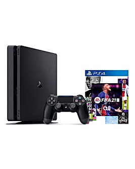 PlayStation 4 500GB & FIFA 21