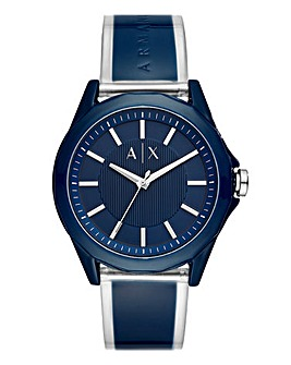 Armani Exchange Gents Blue Face Watch