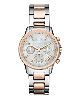 Armani Exchange Ladies Pearl Watch