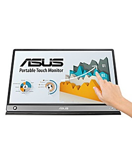 ASUS ZenScreen Touch MB16AMT USB Type-C 15.6in Portable Monitor