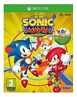 Sonic Mania Plus - Including Artbook & Sleeve (Xbox One)