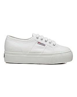 Superga 2790 Linea Up Down Flatform Lace Up Leisure Shoes Standard D Fit