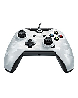 Wired Xbox One Controller - White Camo
