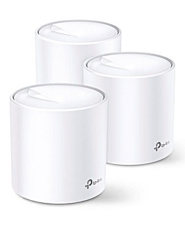 TP-Link AX1800 WiFi 6 Whole-Home Mesh WiFi System - 3 pack