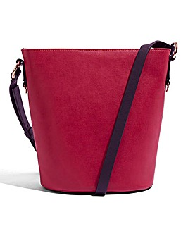 Oasis Chain Detail Hobo Bag