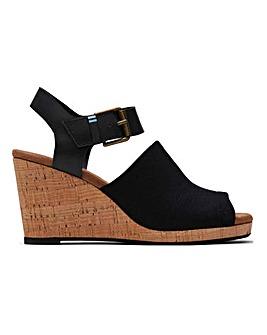 Toms Tropez Wedge Sandals