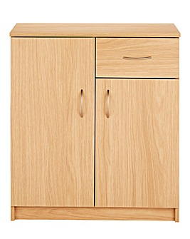 Langley 2 Door 1 Drawer Storage Cupboard