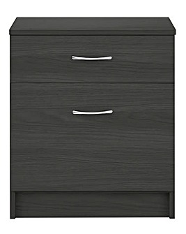 Langley 2 Drawer Filing Cabinet
