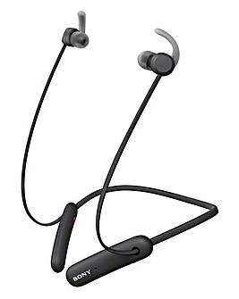 Sony WI-SP510 Sports Bluetooth Headphones - Black