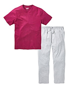 Magenta Long PJ Set