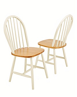 Padstow Pair of Chairs