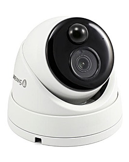 Swann 4K Dome IP Digital Still Image Video Cam - Face Recognition & 1 Way Audio