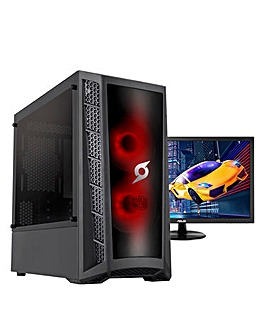 Zoomstorm Intel Core i5 16GB 500GB GTX1660S & ASUS 24in Gaming Monitor