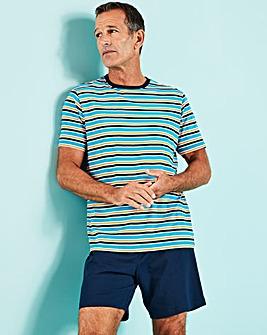 Stripe Short PJ Set