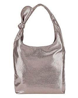 Joanna Hope Metallic Casual Tote Bag