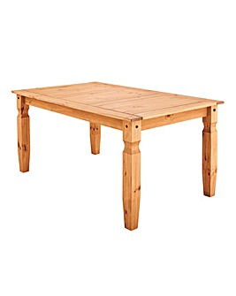 Corona Solid Pine Large Dining Table