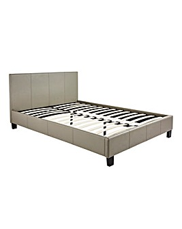 Hayden Faux Leather Bedstead