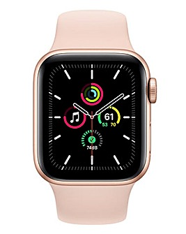 Apple Watch SE 40mm Gold Aluminium Case & Pink Sand Sport Band
