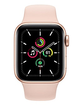 Apple Watch SE Cellular 40mm Gold Aluminium Case & Pink Sand Sport Band