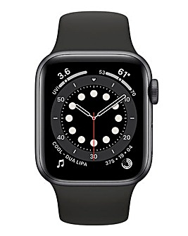 Apple Watch Series 6 Cellular 40mm Space Grey Aluminium Case & Black Sport Band