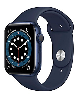 Apple Watch Series 6 Cellular 40mm Blue Aluminium Case & Deep Navy Sport Band