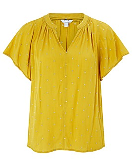 Monsoon Wendy Embroidered Top
