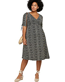 Monsoon Hope Heart Jersey Curve Dress