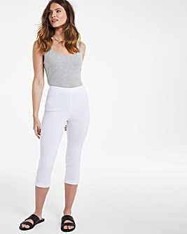 Julipa Pull On Capri Trouser